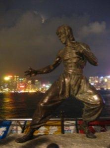 Bronze Statue of Bruce Lee