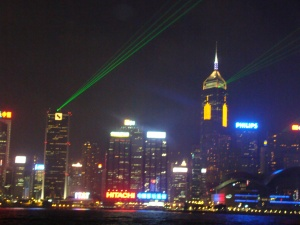 Victoria Harbour - Lights and Sounds show
